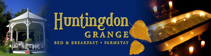 Huntingdon Grange - Bed & Breakfast, Farmstay
